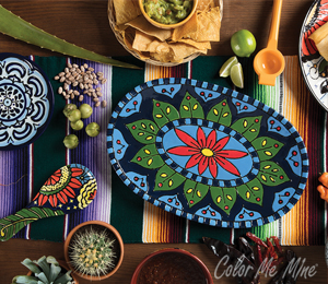 Orange Village Talavera Tableware